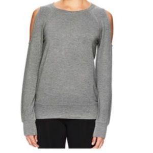 Gaiam Divine Cold-Shoulder Yoga Top